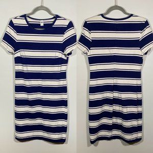 Old Navy Striped T-Shirt Dress Size M